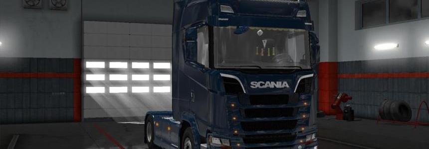 Scania S730 Accessory Fix