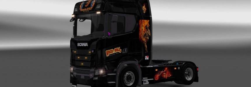 Scania S730 Rock skin v2.0