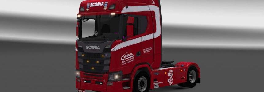 Scania S730 SBA skin 1.28
