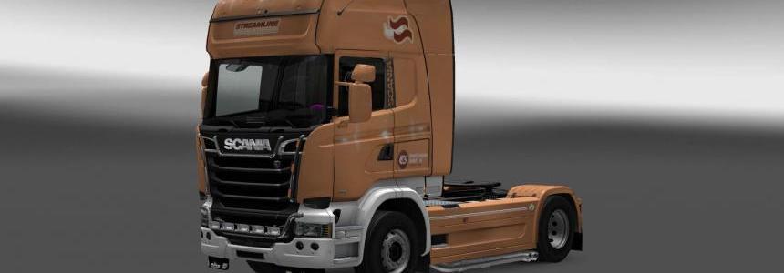 Scania Streamline Inter Logistic skin 1.28