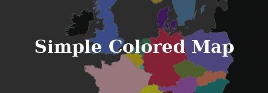 Simple Colored Map 1.28.x