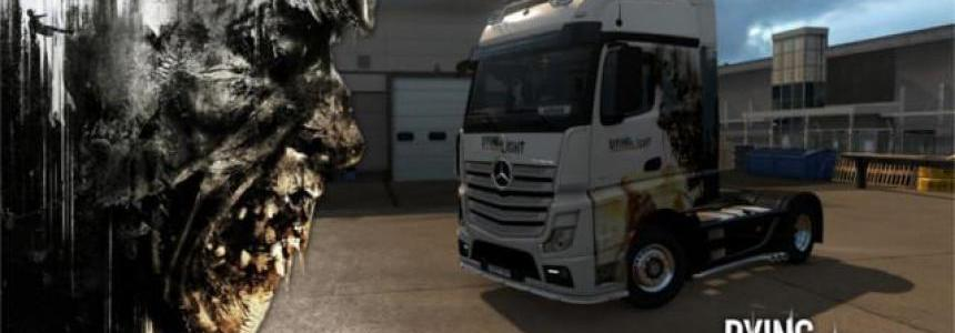 Skin Dying Light for Mercedes Benz Actros MP4 1.28