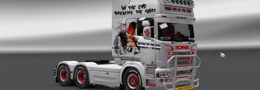 Skin LinkinPark [Tribute Chester] for Scania R (RJL)