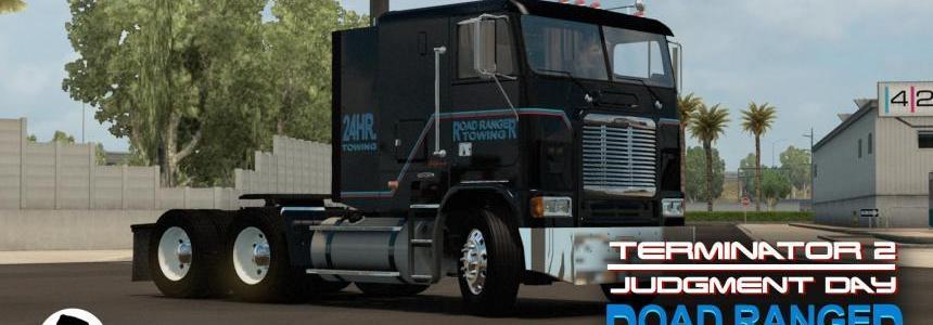 Skin Road Ranger Towing (Terminator 2) for Freightliner FLB