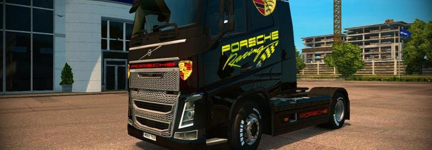 Skin truck volvo - skin porsche racing V1.0