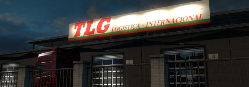 TLG Logistica - Internacional Big Garage