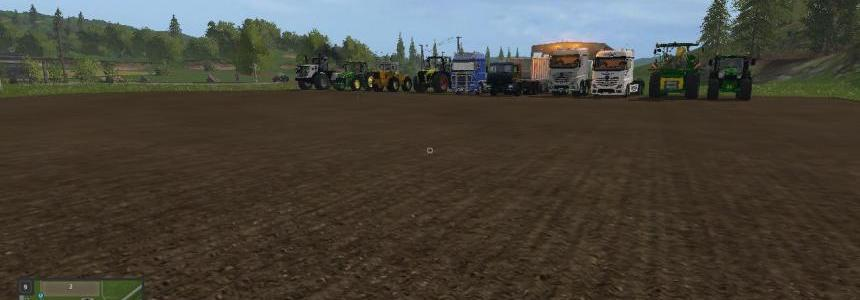 Tractor and vehicle pack v1.0