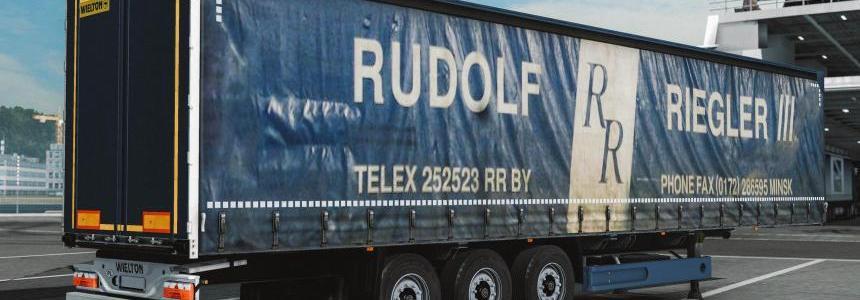 Trailer Wielton Rudolf Riegler 1.28