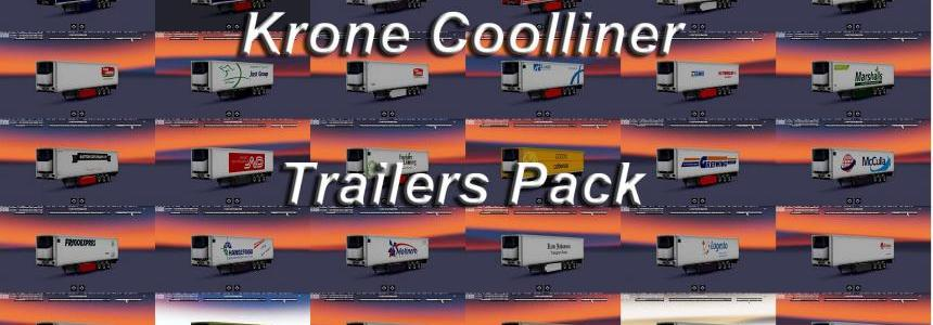 Trailers pack Krone Coolliner 1.28.x
