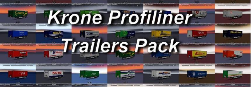 Trailers pack Krone Profiliner 1.28.x