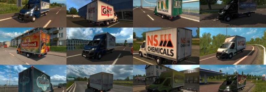 Vans with skins Scandinavian Company