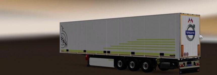 Volvo Skin for Schmitz SKO Trailer