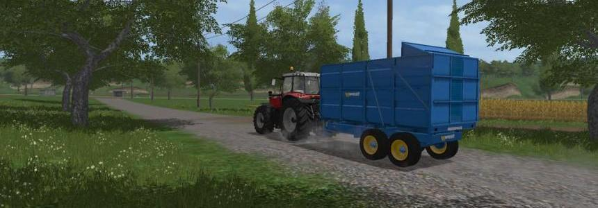 West 10t Silage Trailer v1.0.0.0