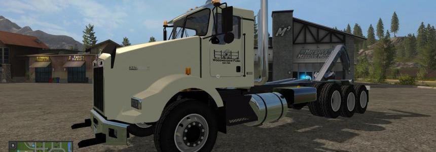 WMF Kenworth T800 hooklift FS17 v1.0.0.0
