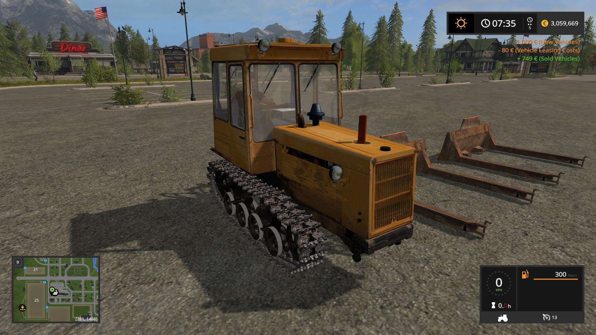 DT-75 ML Farming simulator 17 v1 0 - Modhub us