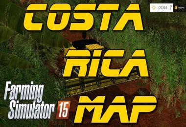 Costa Rica Map v1.0