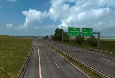Scandinavia Mod ProMods map add-on v0.2 for 1.28.x