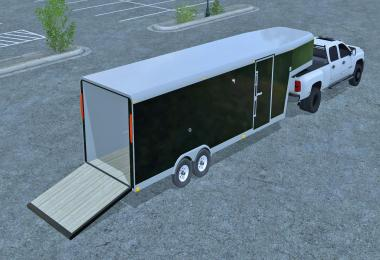 30FT Gooseneck Trailer v1