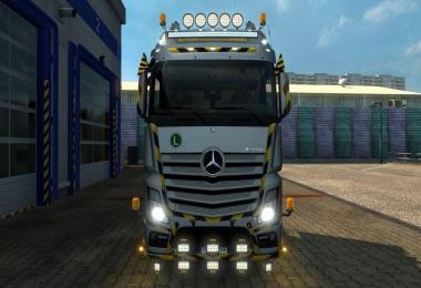 Construction Roof Grill + Led Bar 1.28.x