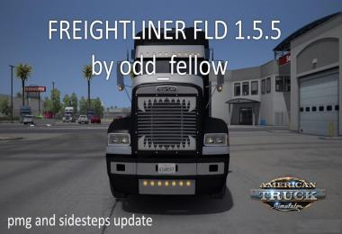 [ATS] Freightliner FLD v1.5.5 by odd_fellow