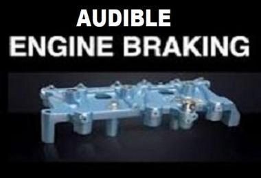 Audible Engine Braking for SCS ETS2 Trucks v1.0
