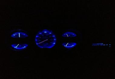 Blue Dashboard Light For All Trucks