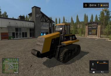 Cat 75c Farming simulator 17 v1.0