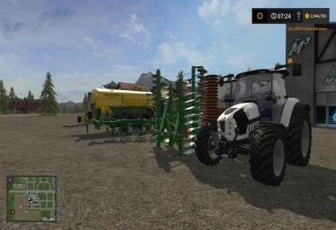 DeutzFahr TTV update and Zunhammer Animal Water trailer