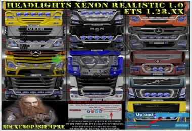 Headlights Xenon Realistic by Rockeropasiempre