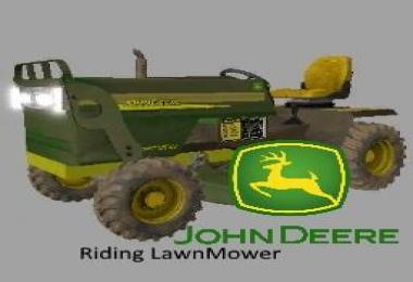John Deere Riding Lawnmower v1.0