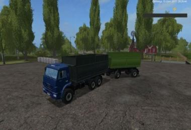 Kamaz 68900R and trailer v1.1