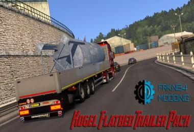 Kogel Flatbed Trailer Pack 1.28.x
