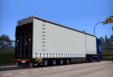 Krone Jumbo Curtainside 4 Axe 1.28