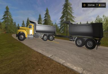 Mack Dump and Trailer PACK v1.0