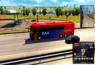 MAP EAA BUS v4.4.1 (Official) FOR ETS2 [1.28]