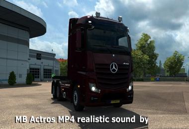Mercedes Actros MP4 Sound
