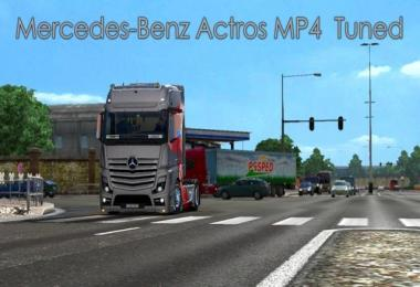 Mercedes-Benz Actros MP4 Tuned 1.28