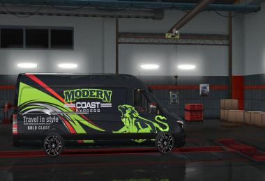 Mercedes Sprinter Momentum Paint Job v1.28.3