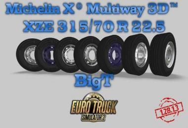 Michelin X Multiway 3D 1.28.x