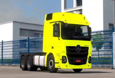 New Mercedes Benz Actros 2017 Brazil Style 1.28