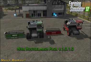 Niva Rostselmash Pack v1.0.1.0