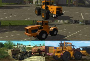 Russian BIG Tractors Pack v1.0