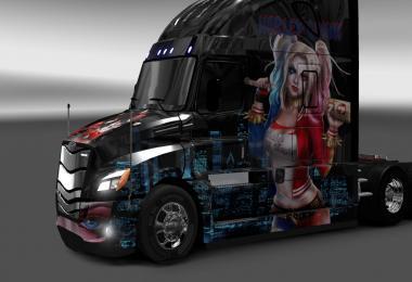 Skin Harley Quinn for Cascadia 2018 1.28