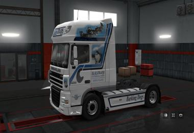 Skin Hovo Trans for DAF 105 1.28.x