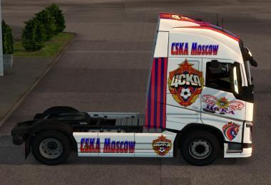 Skin pack CSKA Moscow V1.0