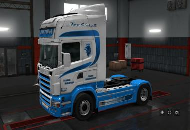 Skin Pack Daytona Heavy Haulage for Scania (RJL) 1.28.x