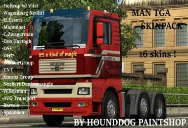Skin Pack for Man TGA 1.28