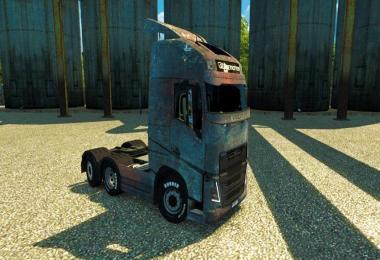 Skin Rusted for Volvo 2013 (Ohaha)