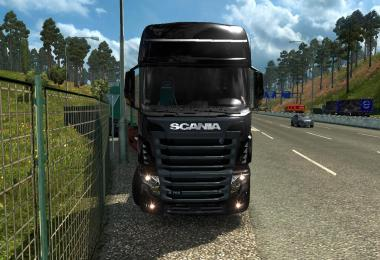 Skin + template R700 for ets2 1.28.x