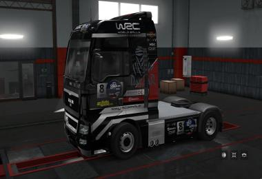 Skin Worl Rally Championship Race for MAN TGX 1.28